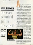 """the most beautiful girl"" 2 - oz CLEO 7-88 by Gilles Bensimon"