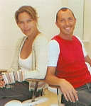 danish ALT 22. Aug. 2002 - at the hairdresser with Alexander