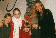 danish BILLED BLADET - 2004 with all kids at book fair