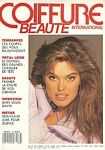 french COIFFURE BEAUTE Jan./Feb. 1989 cover - Lothars catalog pic
