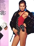 "french ""CUIR DE STARS"" book 1989 - Mac Douglas swimsuit ad."