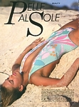 """PELLE AL SOLE"" 1a - ital. COSMO 6-1983 by Patrick Demarchelier"
