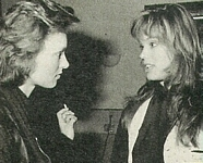 danish - at her agency 1985 talking to a woman