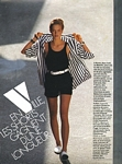 french ELLE 2. July 1984 shorts 1