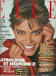 french ELLE 9. June 1986 cover by Bill King