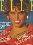french ELLE 4. Aug. 1986 cover by Gilles Bensimon