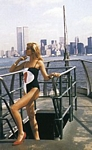 danish EUROWOMAN Sep. 2004 - N.Y. on the roof models swimsuit
