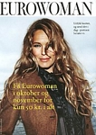 danish EUROWOMAN Sep. 2004 - subscribing card, outside brown jacket