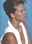 """BRONZER"" 6 - french Bazaar May/June 1983 by Patrick Demarchelier"