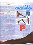 """PEP UP YOUR CIRCULATION"" 1a - U.K. ELLE 2-1986 by Gilles Bensimon"