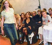 danish MetroXpress 16. Nov. 2004 - in the audience at 2004 danish Supermodel of the World finale