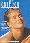 belgium ONLY YOU 25. Sep. 1995 cover by Hans Feurer (Biotherm sun pic)