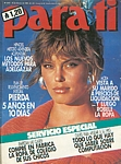 argent. Para Ti 24. Feb. 1986 cover by Gilles Bensimon