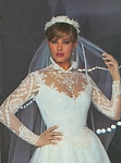 Reflections 4 bridal couture - U.S. Modern Bride 10-11 1983