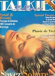 french TALKIES 1996 cover by Hans Feurer (Biotherm sun pic)